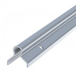 Rail à sceller pour galet à gorge ronde - 3 m - Photo