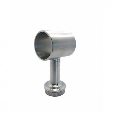 Support de main courante bague pour poteaux rond inox - Photo